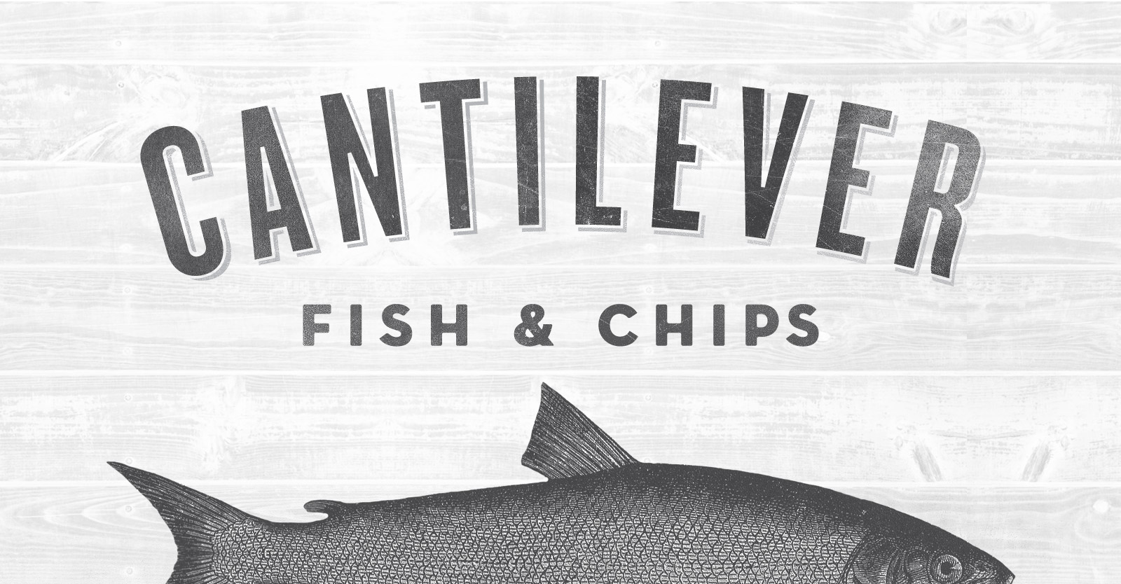 Cantilever Chippy Typography