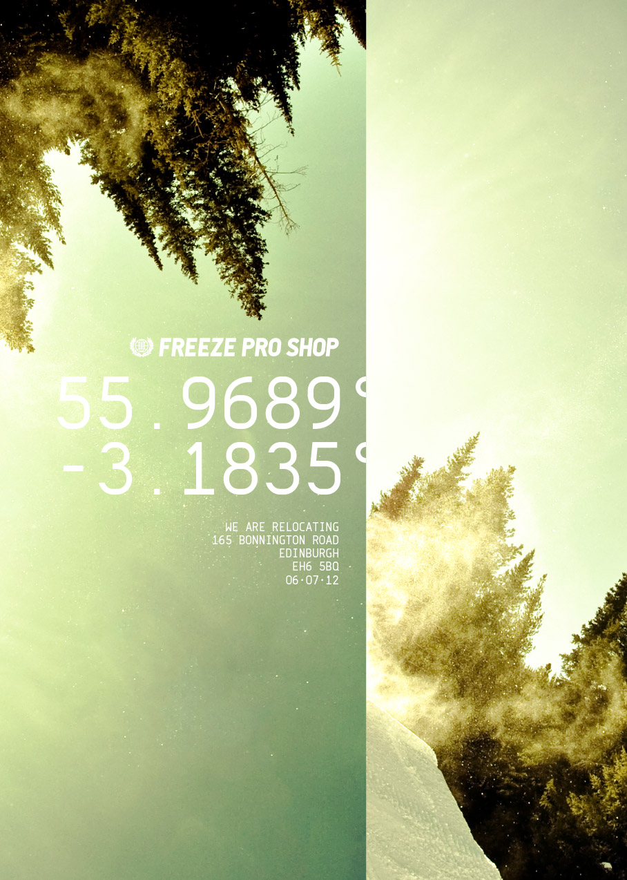 Freeze Pro Shop Moving Poster